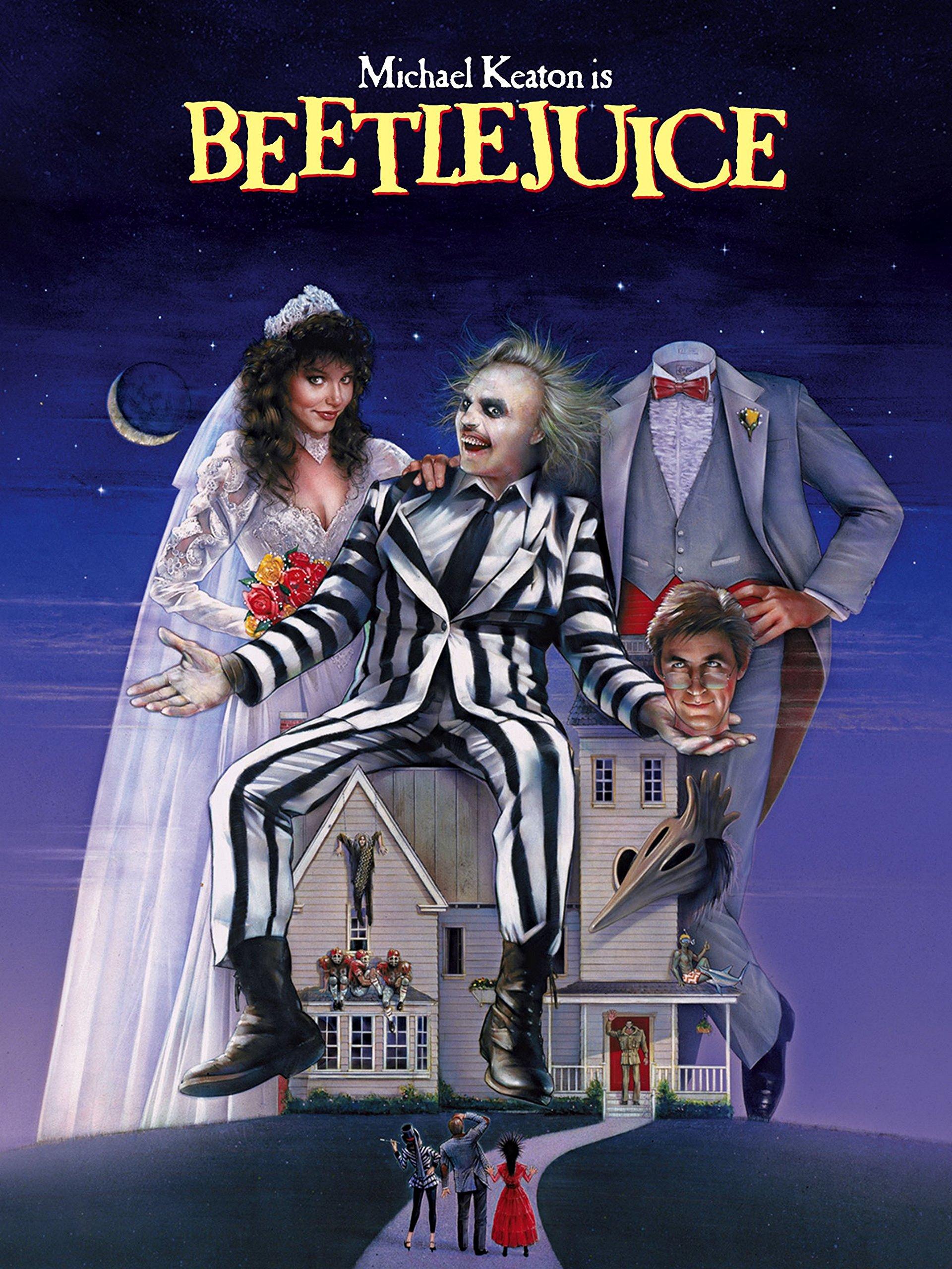 Blog Tour - L'ottava confraternita. Case, Hotel... e Fantasmi nei libri e nei film - Beetlejuice