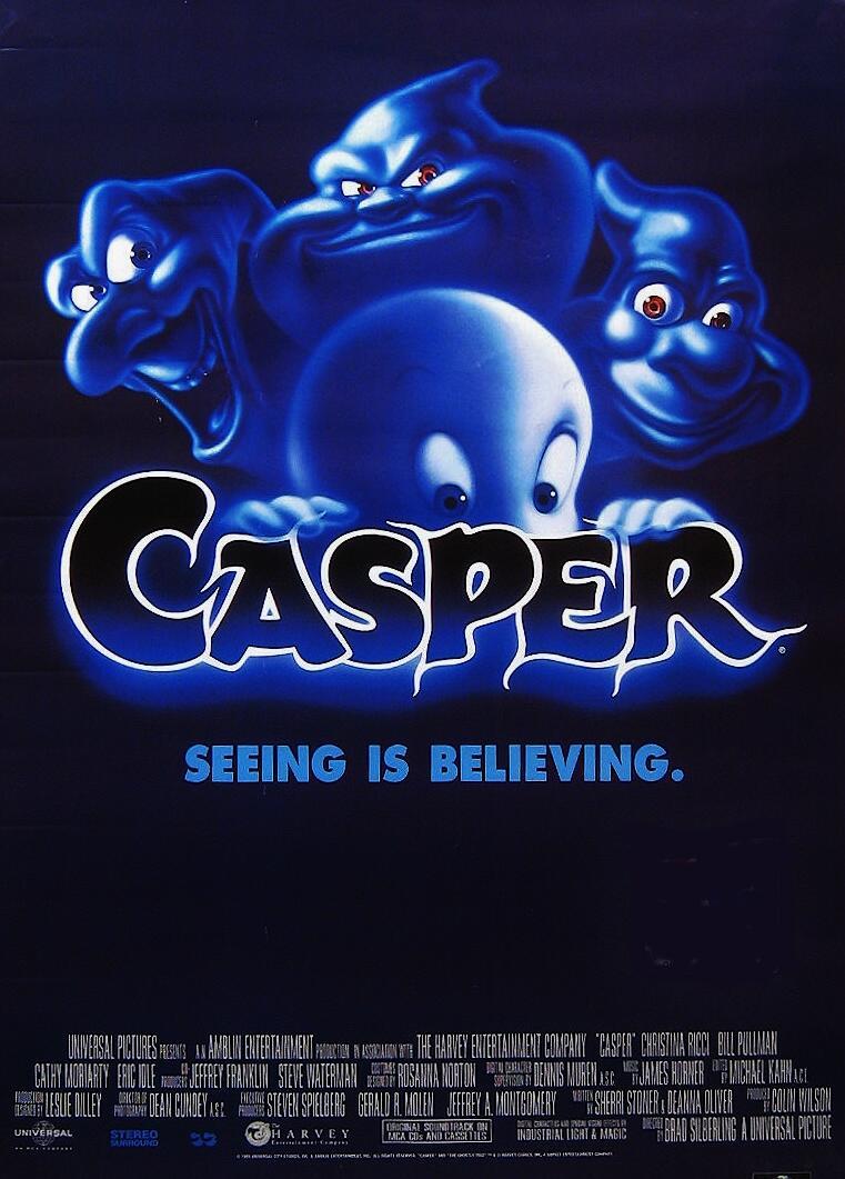 Blog Tour - L'ottava confraternita. Case, Hotel... e Fantasmi nei libri e nei film - Casper