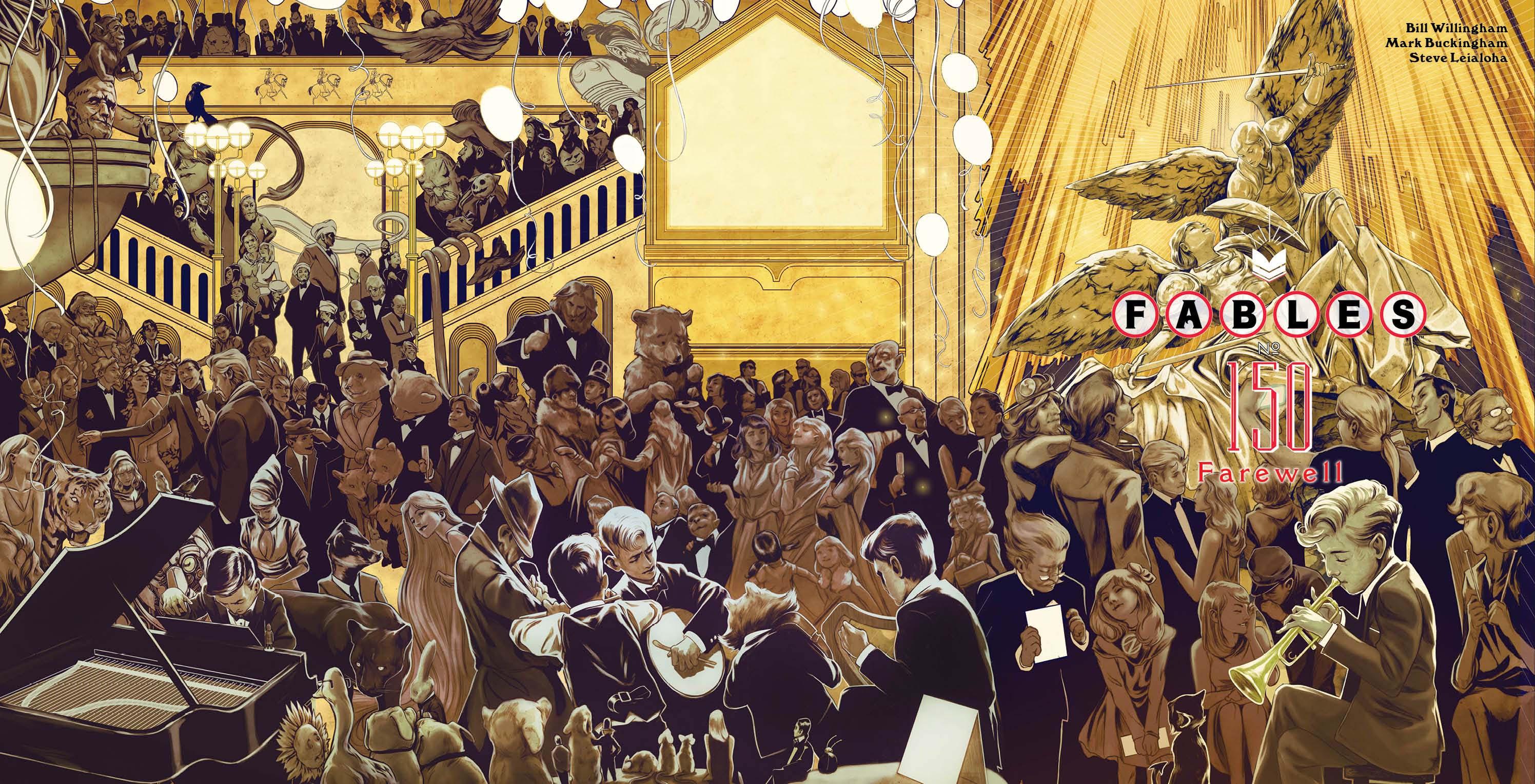 Fables di Bill Willingham copertina numero 150
