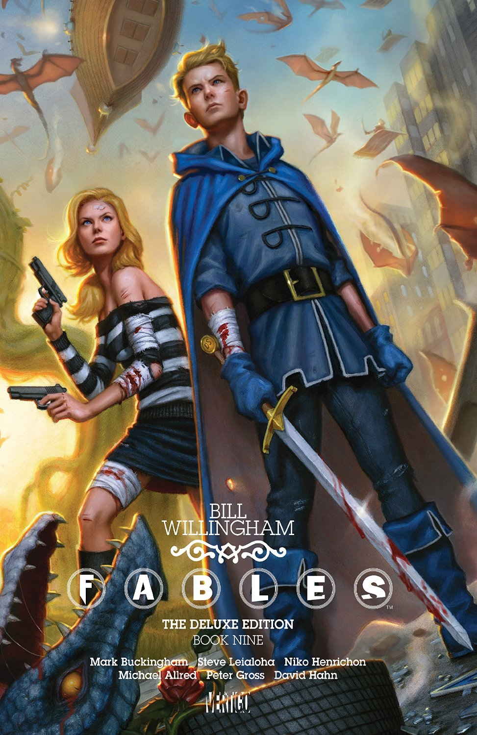 Fables Deluxe Book 9