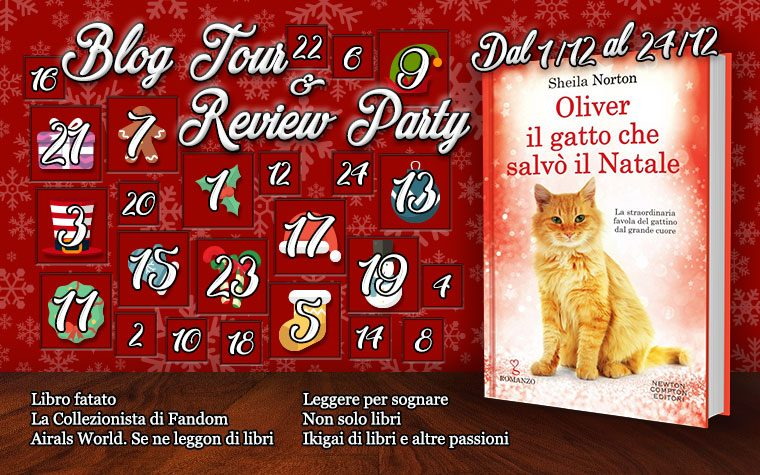 Calendario dell'avvento Libroso – Oliver, il gatto che salvò il Natale
