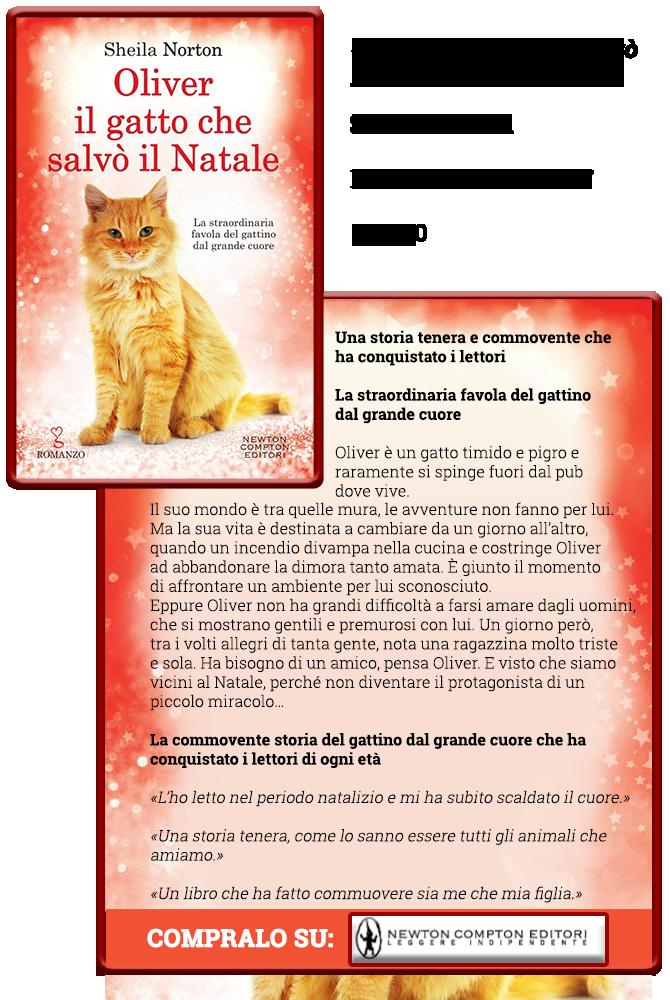 Oliver, il gatto che salvò il Natale - Newton Compton