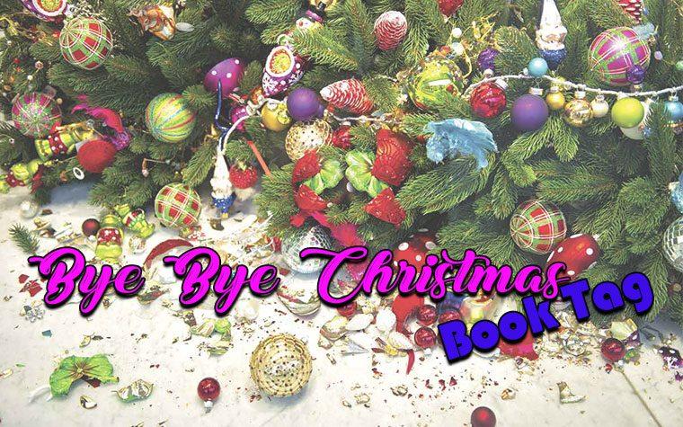 Bye Bye Christmas Book Tag
