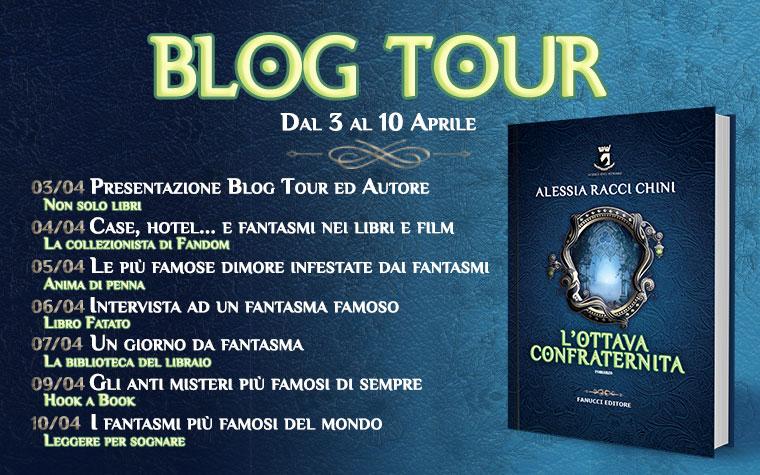Blog Tour - L'ottava confraternita. Case, Hotel... e Fantasmi nei libri e nei film
