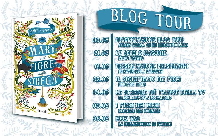 Blog Tour - Mary e il fiore della Strega di Mary Stewart