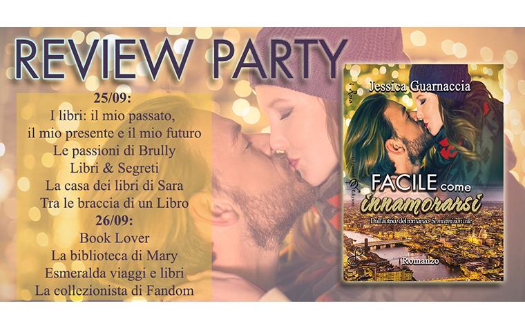 Review Party – Facile come innamorarsi di Jessica Guarnaccia