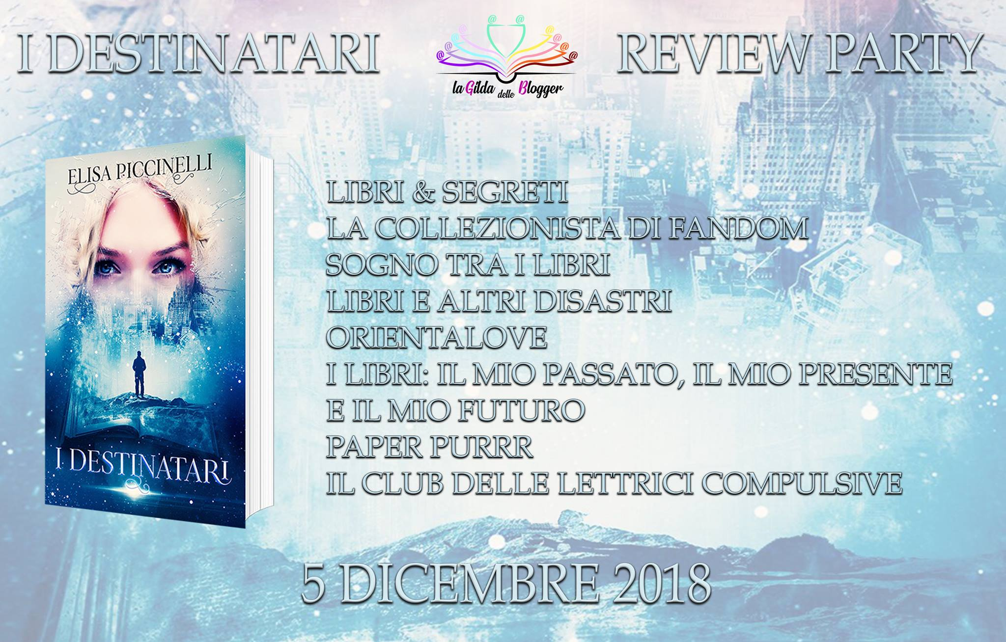 Review Party – I Destinatari di Elisa Piccinelli