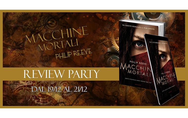 Review Party – Macchine Mortali di Philip Reeve