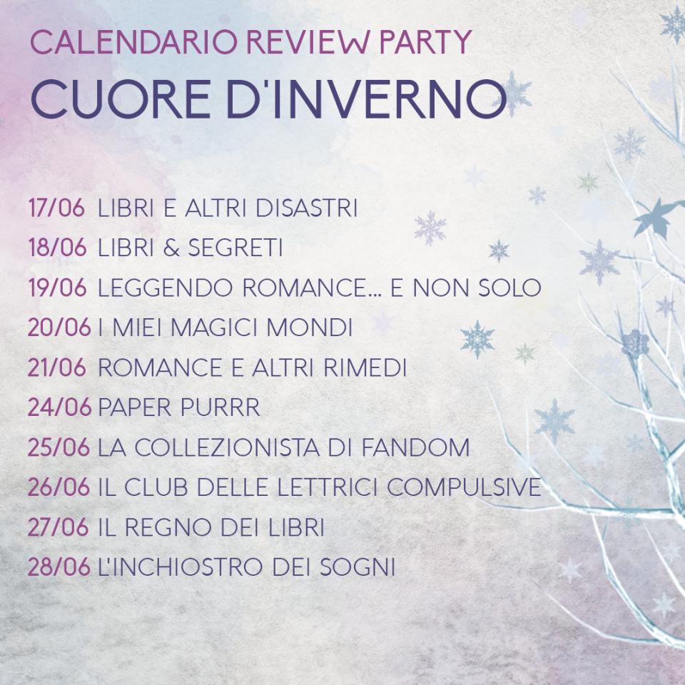 Review Party - Cuore d'inverno: Calendario