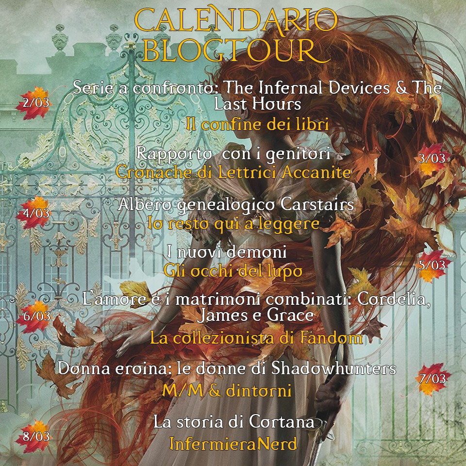 La Catena d'Oro - Calendario Blog Tour