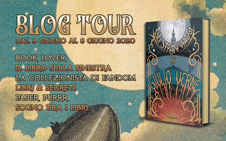 Gli strani viaggi di Giulio Verne – Blog Tour