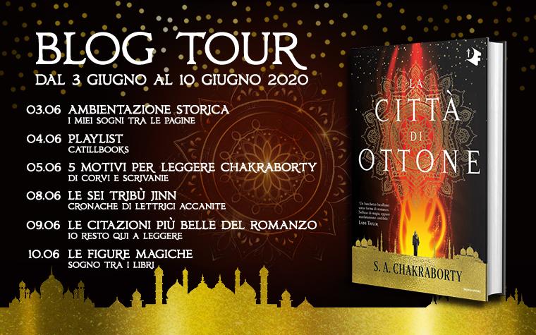 La città di ottone - Calendario Blog Tour