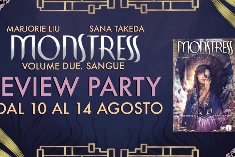 Monstress. Sangue – Review Party