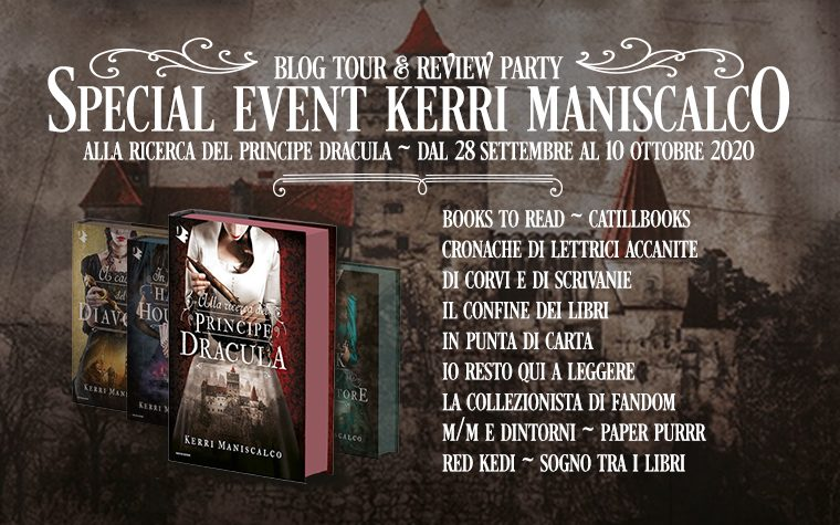 Alla ricerca del Principe Dracula – Review Party