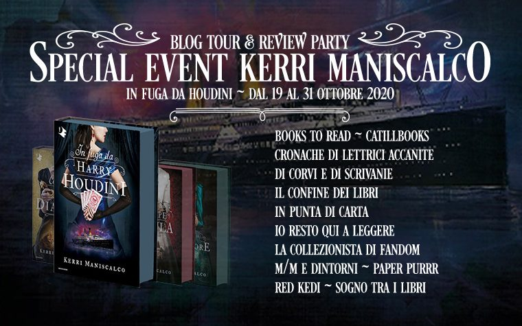 In fuga da Houdini – Blog Tour
