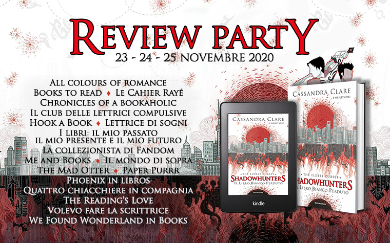 Il libro bianco perduto – Review Party