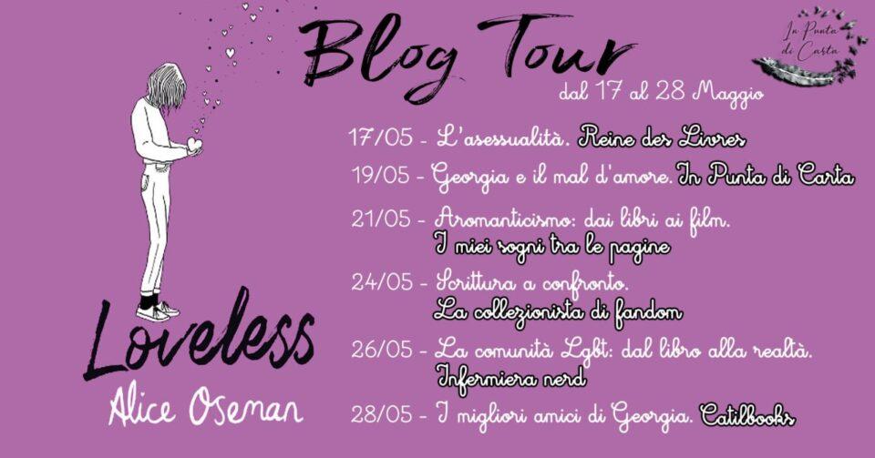 Loveless - Calendario Blog Tour