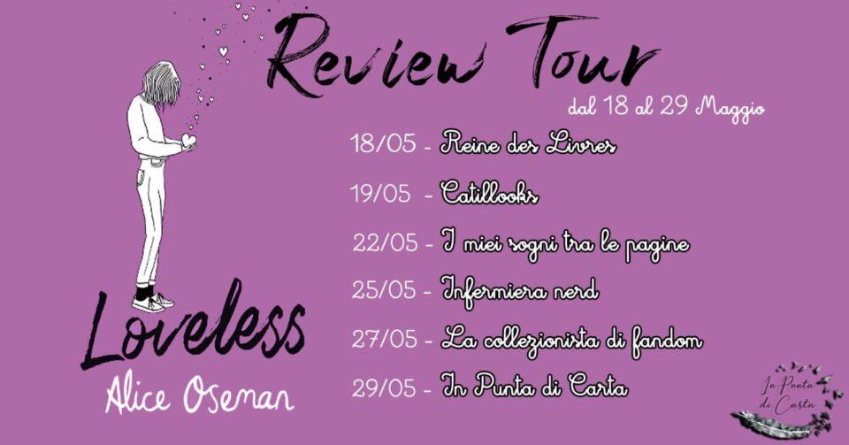 Loveless - Calendario Review Tour